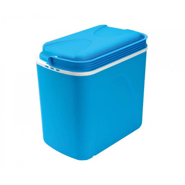 Zens koelbox 24 liter blauw