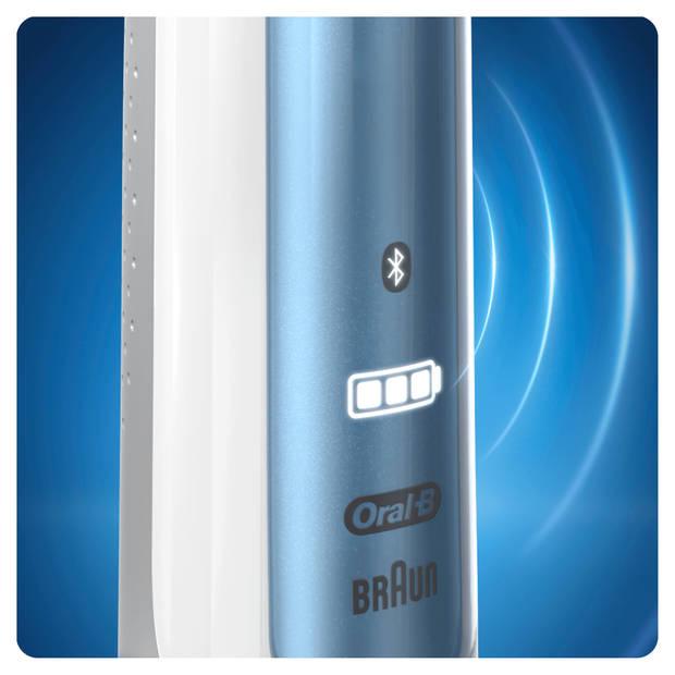 Oral-B Smart 6100S Blue - Elektrische Tandenborstel