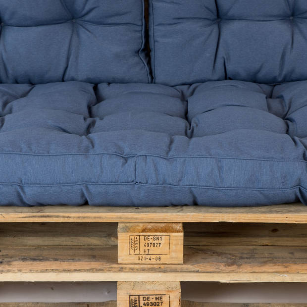 Madison Palletkussen Florance Safier Blauw - 120 x 80cm