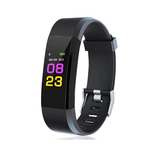 Bluetooth Activity Tracker - Zwart - Meet al je activiteiten