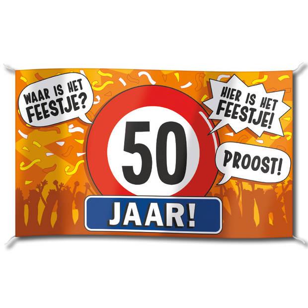 Paper Dreams Gevel Vlag - 50 Jaar
