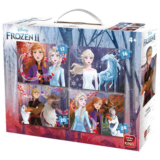 King Disney 4 in1 puzzel Frozen 2