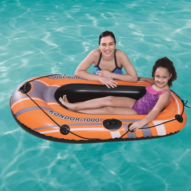 Bestway Opblaasboot Kondor 1000 155x93 cm 61099