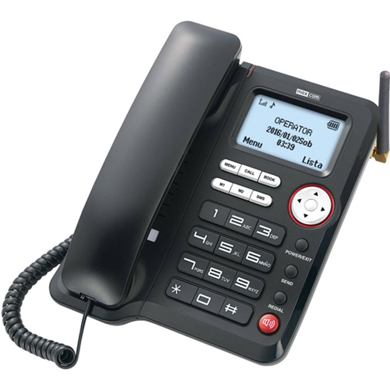 Slechtziend Maxcom MM29D GSM bureautelefoon - Voor 2G en 3G netwerk