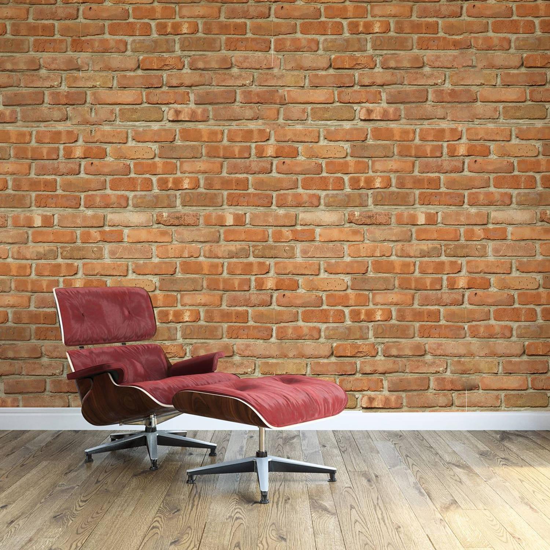 Walplus Bakstenen - Muur Decoratie Sticker - 4 Bladen Van 60x90 Cm