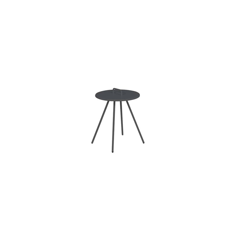 Garden Impressions - Brando bijzettafel Ø40 - carbon black