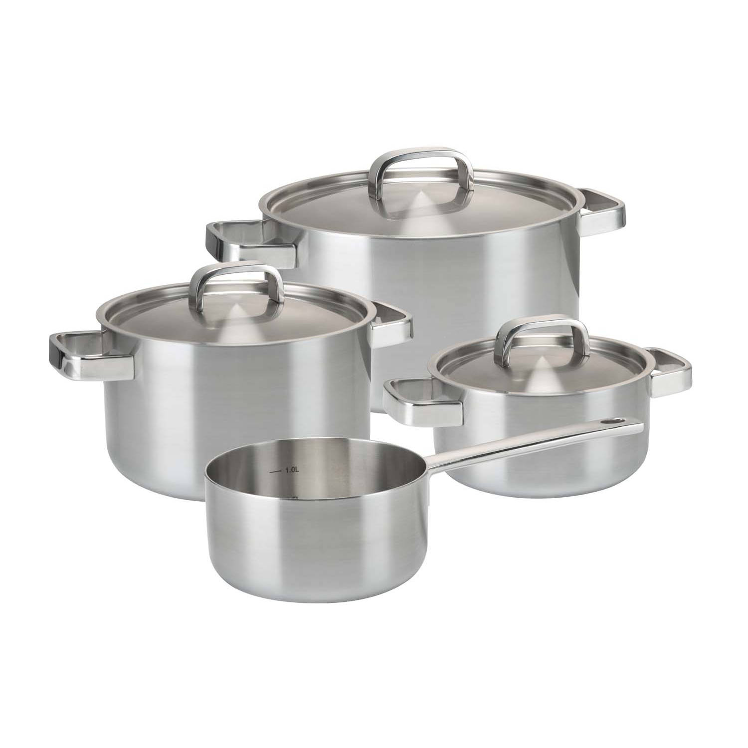 Bourgini Classic Cooking Pan Set Deluxe