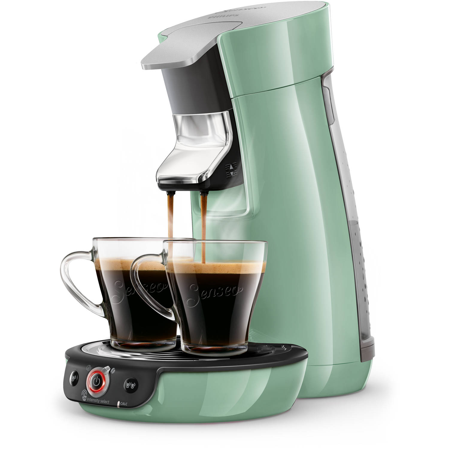 Philips SENSEO® Viva Café Duo Select koffiepadmachine HD6564/10 - groen