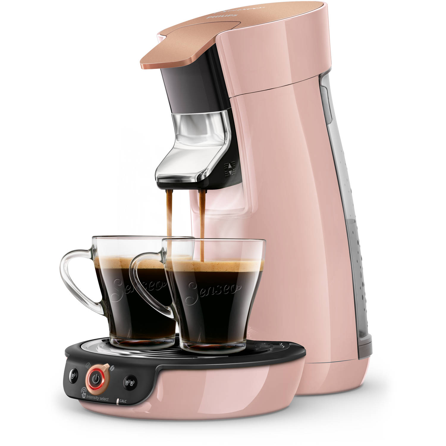 Philips SENSEO® Viva Café Duo Select koffiepadmachine HD6564/30 - roze
