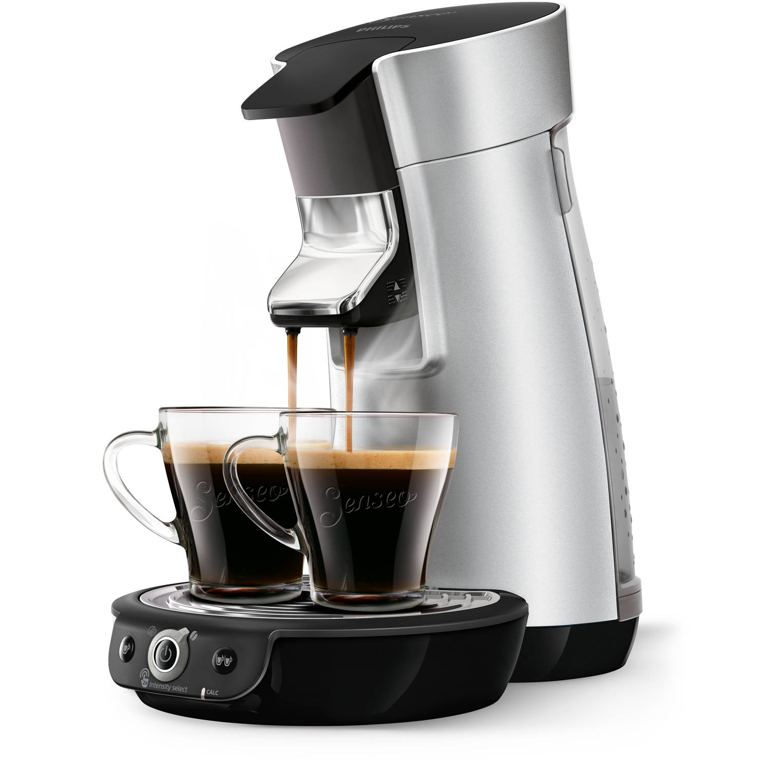 Philips SENSEO® Viva Café Duo Select koffiepadmachine HD6566/10 - zilver
