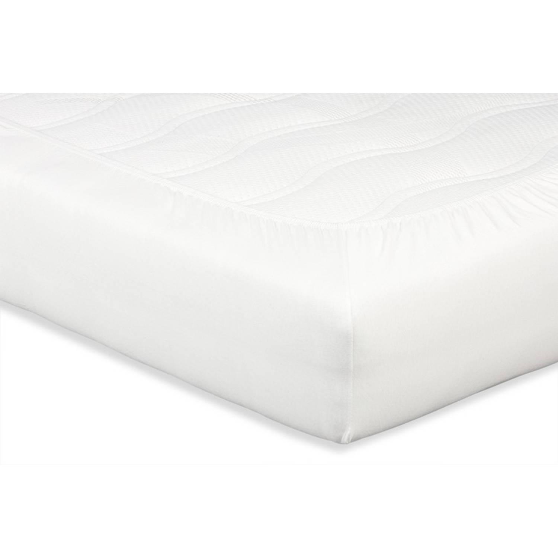 Beter bed Select hoeslaken Perkal - 140 x 200 - Offwhite - Katoen