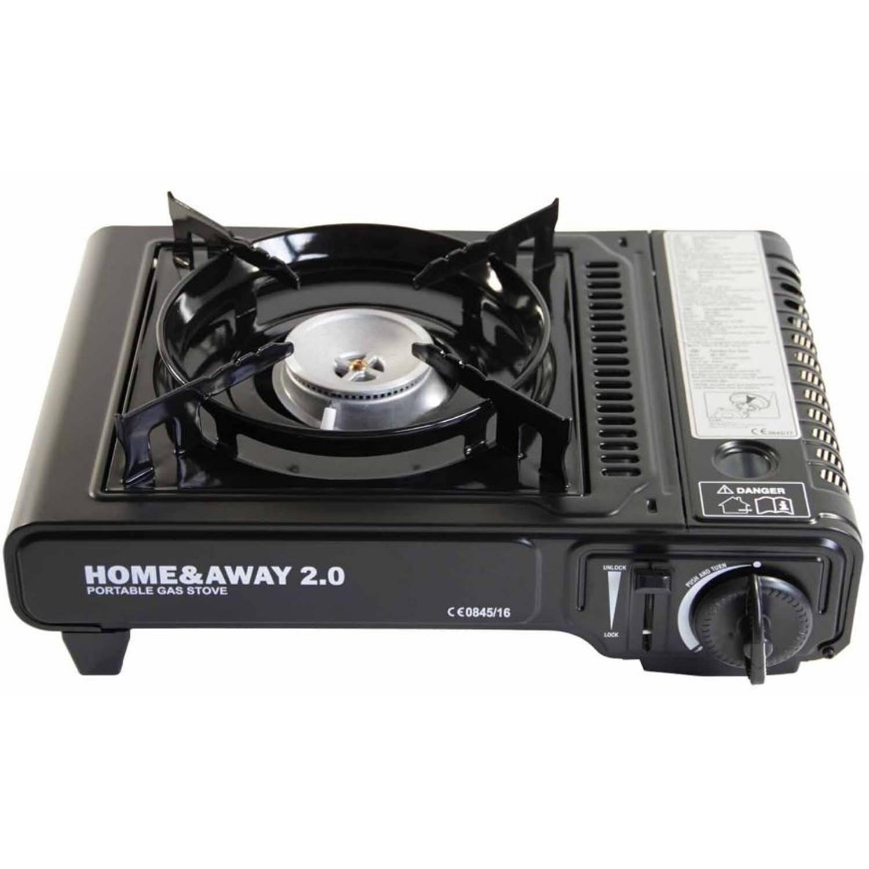 Hofftech kooktoestel gas draagbaar 2200 Watt zwart