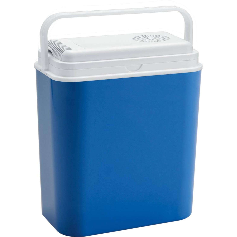 Atlantic elektrische koelbox 12V blauw/wit 44 cm 18 liter kopen
