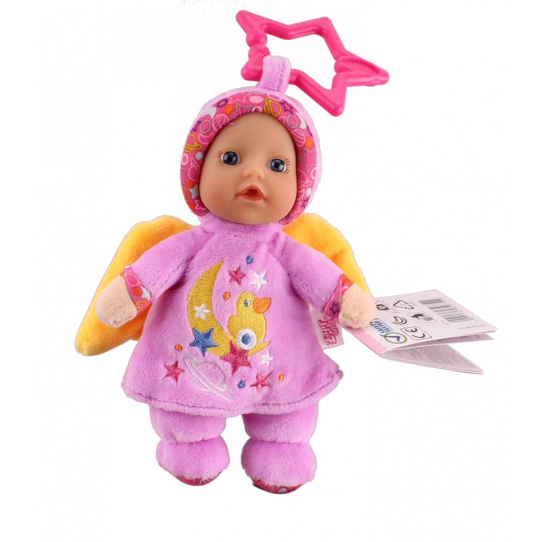 Baby Born Babypop Angel 18 Cm Paars