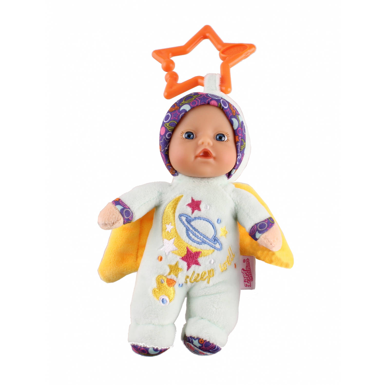 Baby Born Babypop Angel 18 Cm Blauw