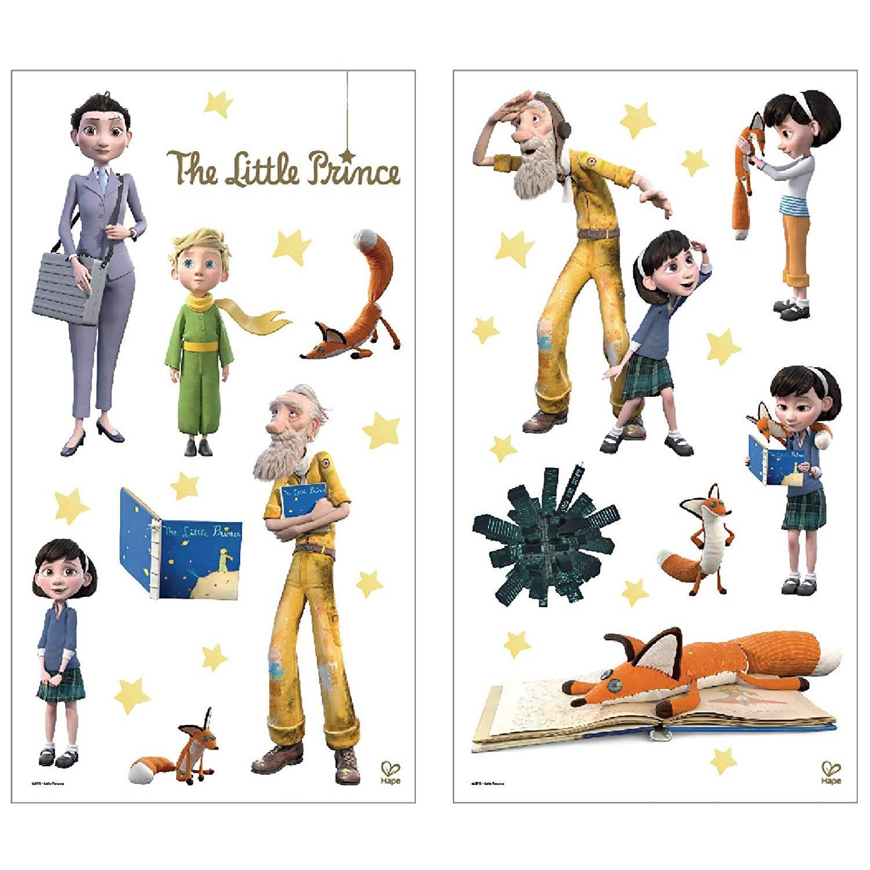 Hape Muurstickers: De Kleine Prins 2 Stickervellen