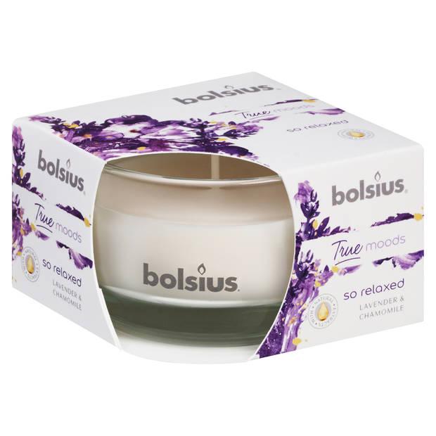 Bolsius geurkaars in glas 50/80 - So Relaxed