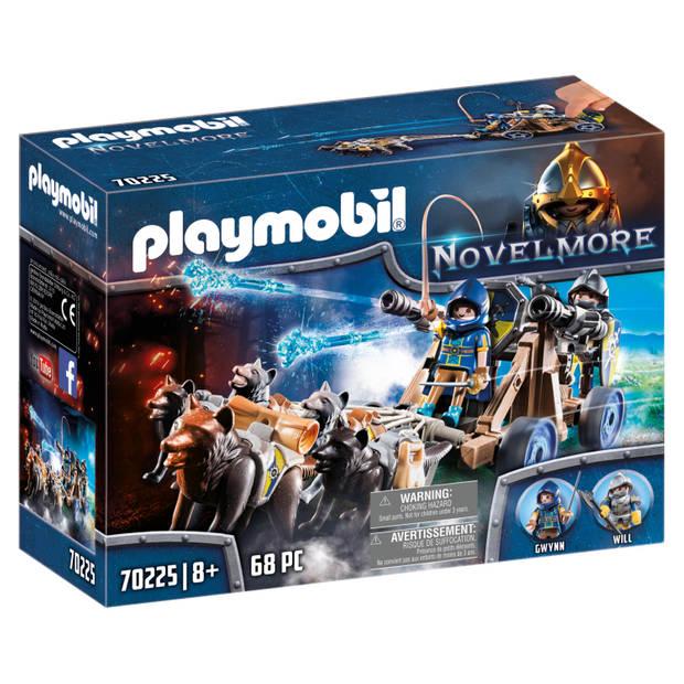 PLAYMOBIL Novelmore ridders met waterkanon en wolven 70225