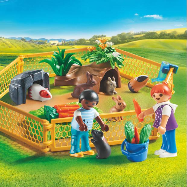 PLAYMOBIL Country kinderen met kleine dieren 70137