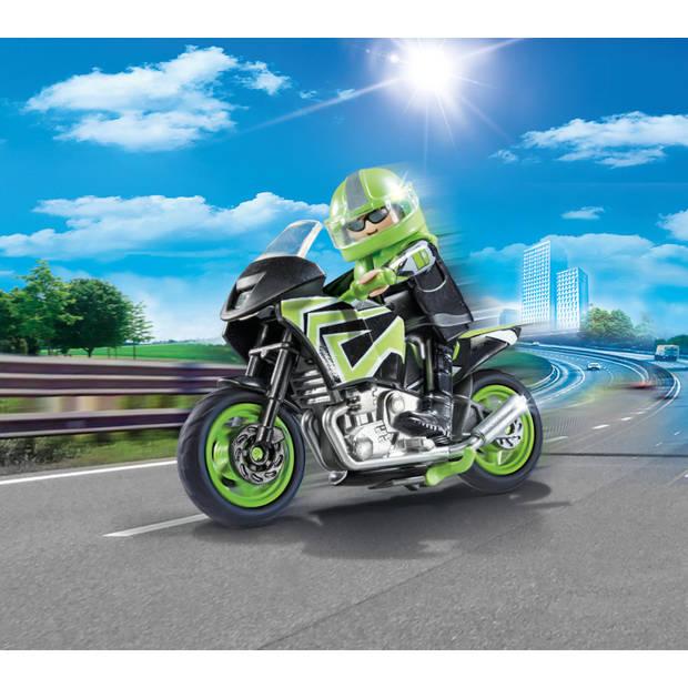PLAYMOBIL City Life motorrijder 70204