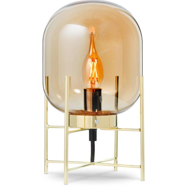 Blokker tafellamp Bas - goud