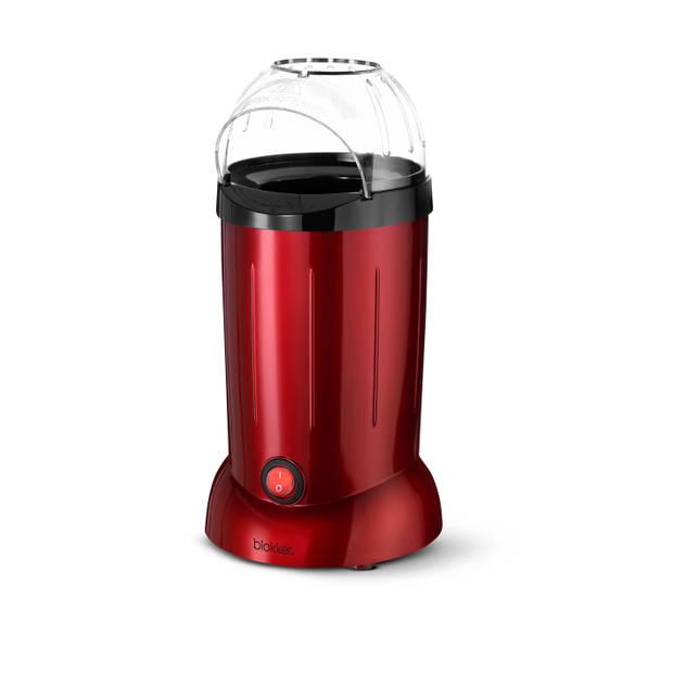 Blokker popcornmaker - rood