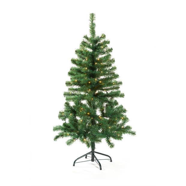 Blokker Kunstkerstboom met LED-verlichting 120 cm