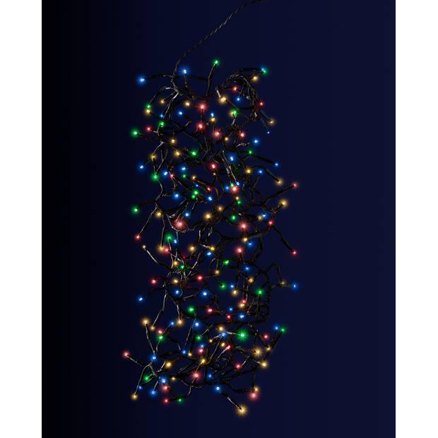 Blokker Clusterverlichting 192 LED multicolor 4,4 meter