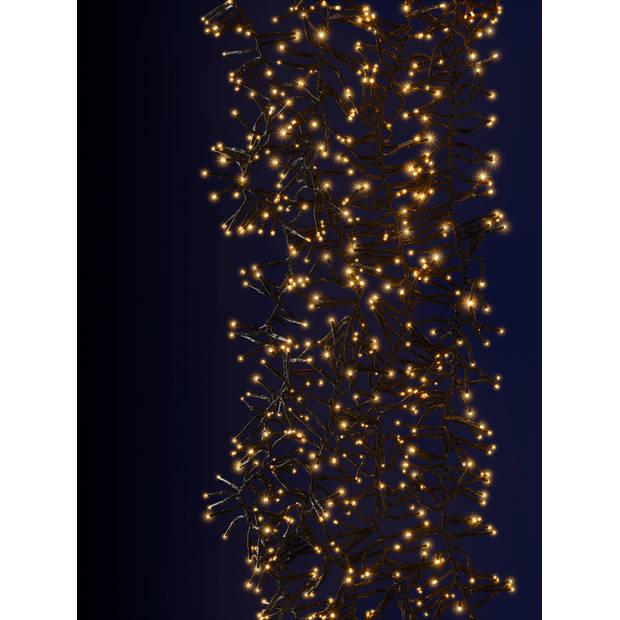 Blokker Clusterverlichting 384 LED lampjes warm wit - 7,5 meter