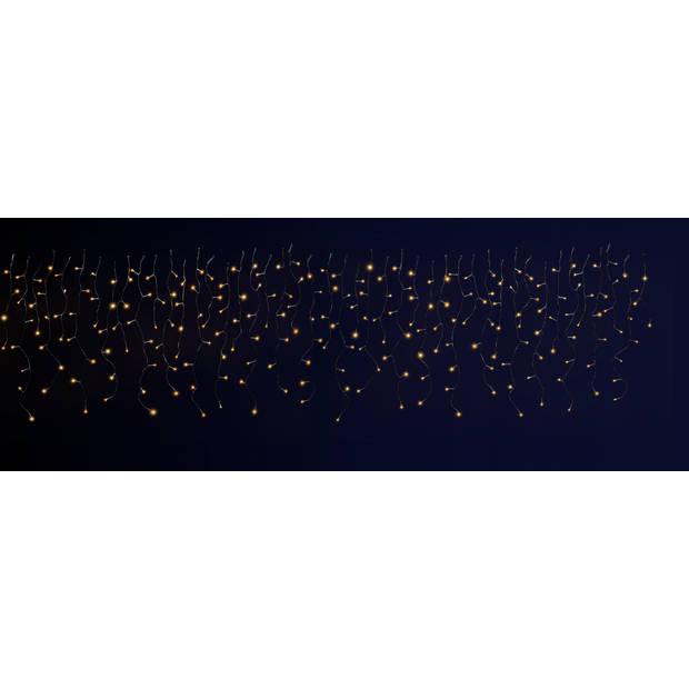 Blokker IJspegelverlichting 180 LED lampjes warm wit - 8,5 meter
