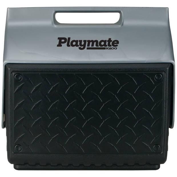 Igloo koelbox Playmate the Boss passief 13 liter zwart/zilver