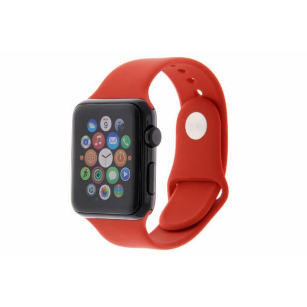 Siliconen sport bandje voor de Apple Watch 44 mm / 42 mm