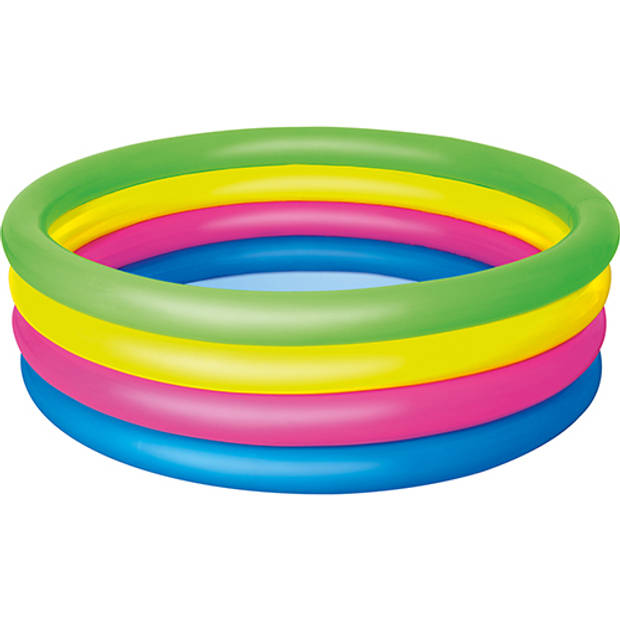 Bestway opblaasbaar zwembad Rainbow