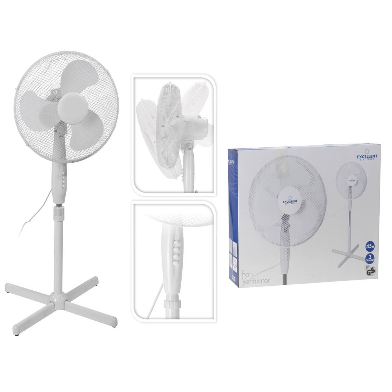 Ventilator staand dia 40cm 220 v 45 watt
