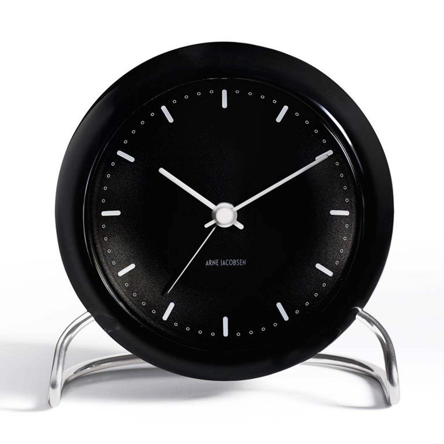 Afbeelding van Arne Jacobsen - Arne Jacobsen City Hall table clock 11cm
