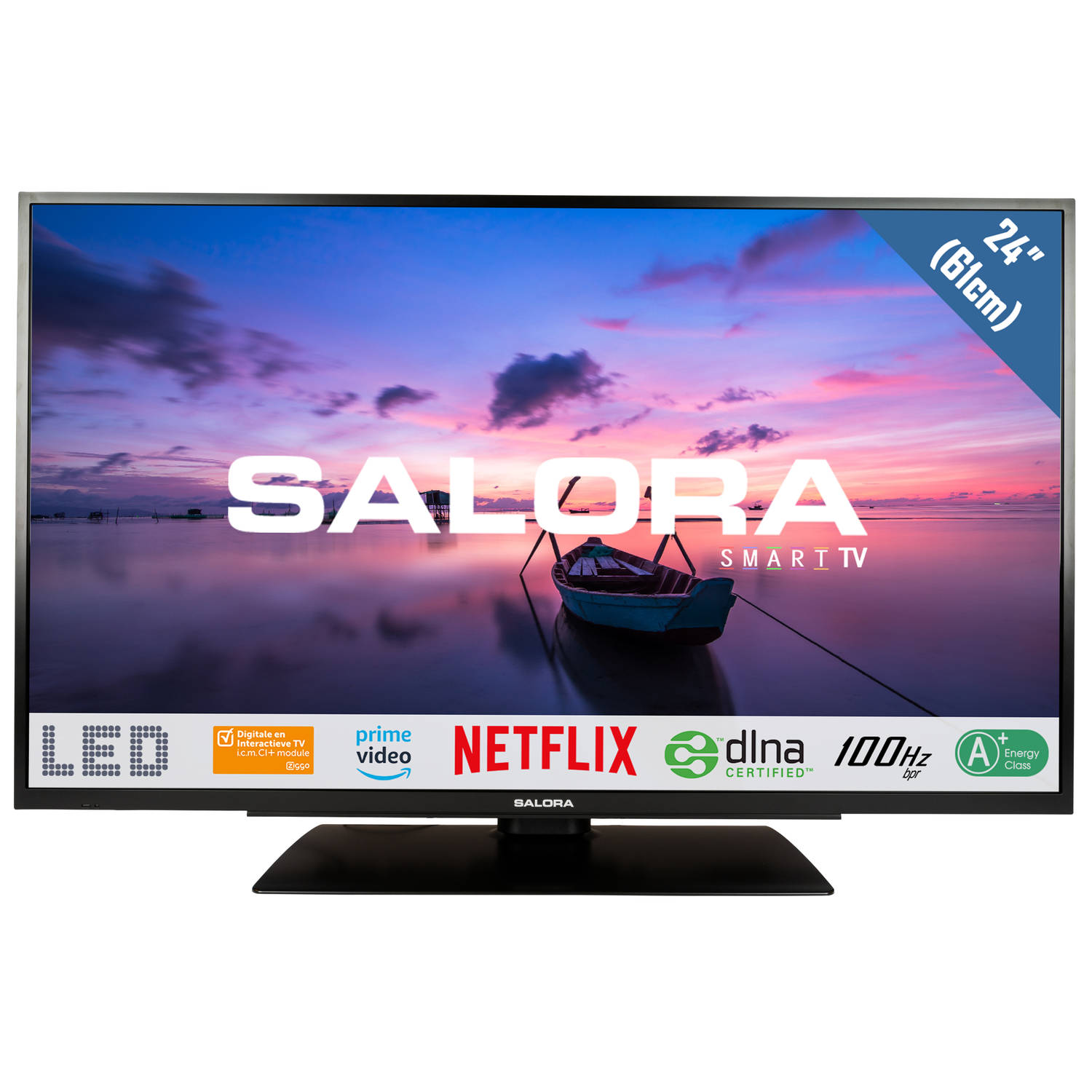 Korting Salora televisie LED 24HSB6502