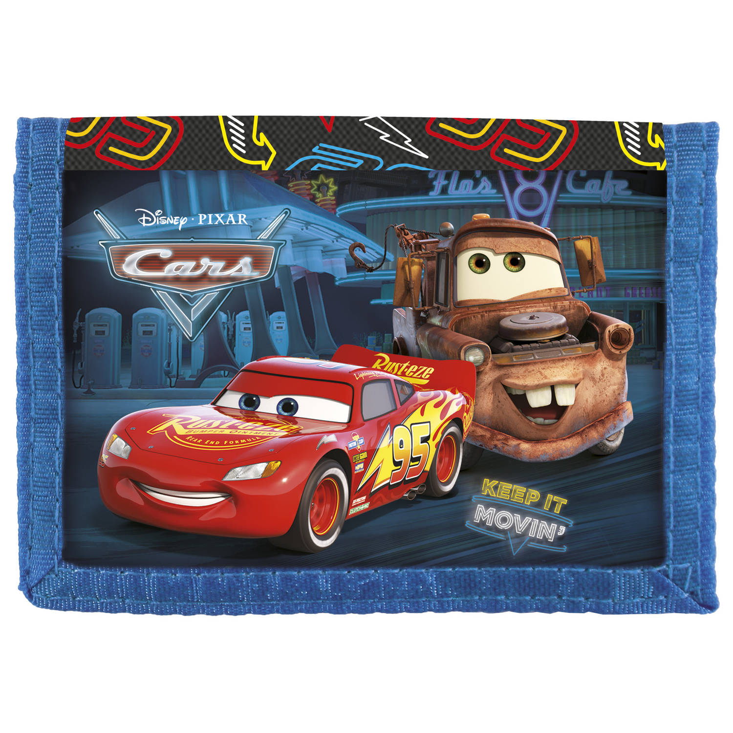 Disney Cars Keep It Movin' - Portemonnee - 12.5 x 8.5 cm - Multi
