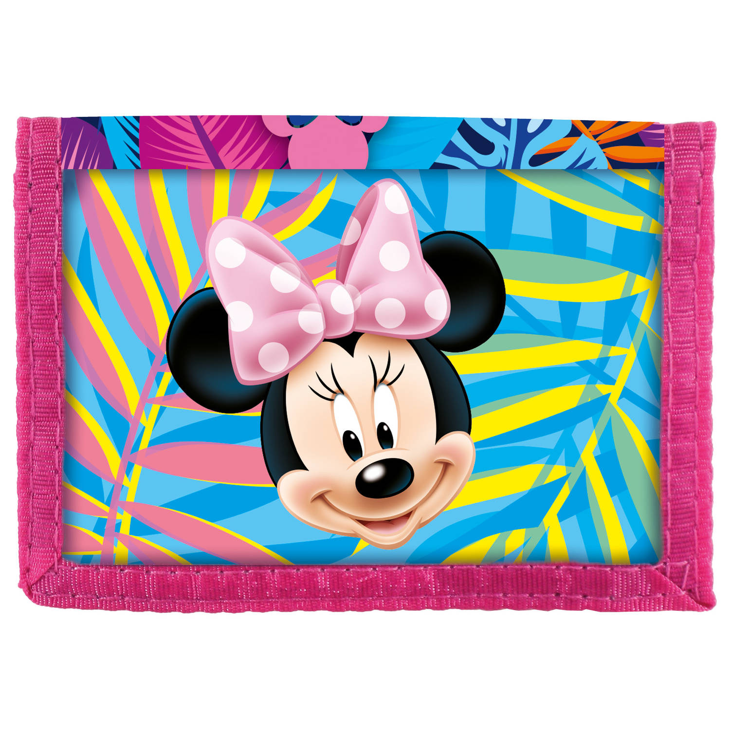 Disney Minnie Mouse Spring Palms - Portemonnee - 12.5 x 8.5 cm - Multi