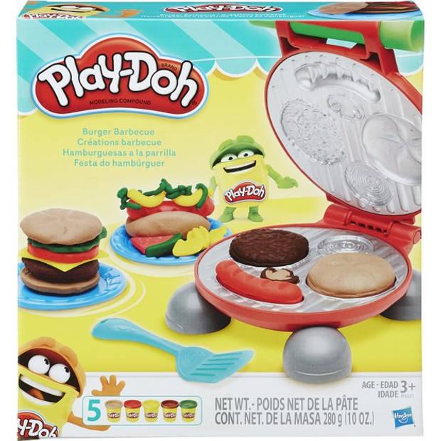Hasbro Play-Doh Burger Barbecue Klei