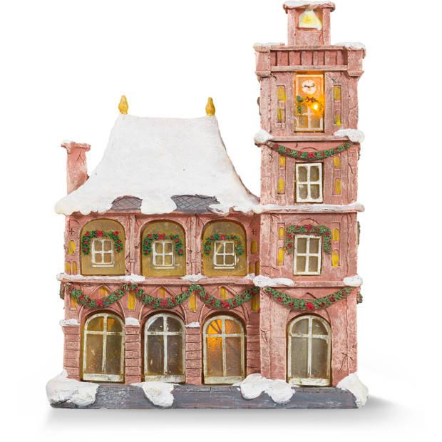 Blokker Anton Pieck kersthuisje - Het Stadhuis