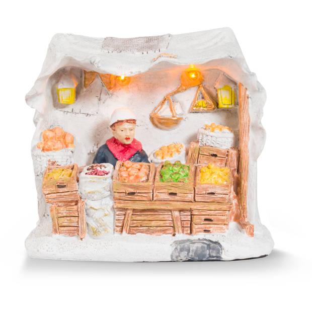 Blokker Anton Pieck kersthuisje - Marktkraam