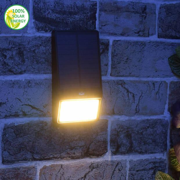 O'daddy solar wandlamp Nodus - Zwart