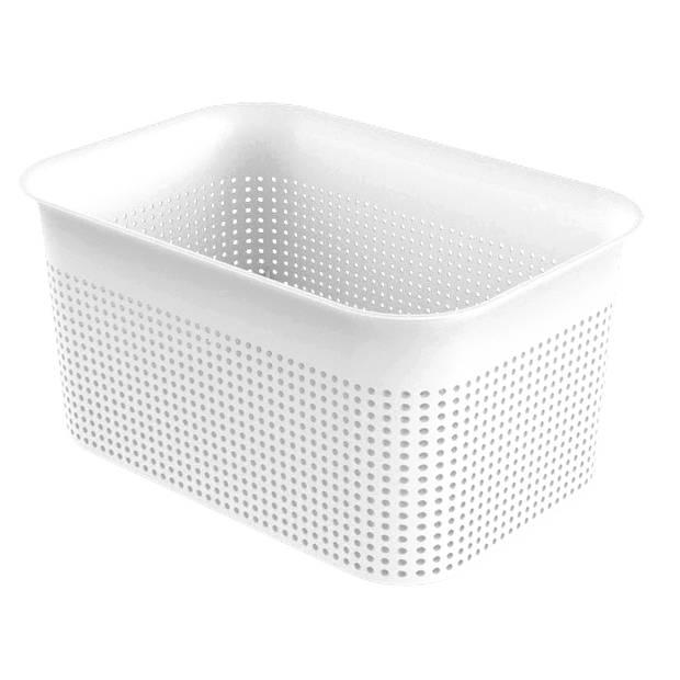 Opbergmandje -S - 4,5 liter wit