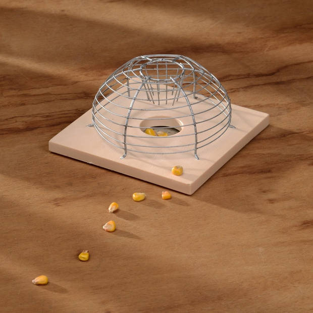 Diervriendelijke muizenval kooi 15 cm ongediertebestrijding - Humane ongediertebestrijding/ongediertewering tegen muizen
