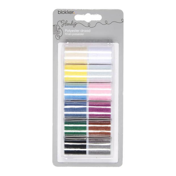 Blokker Polyester Draad Diverse Kleuren