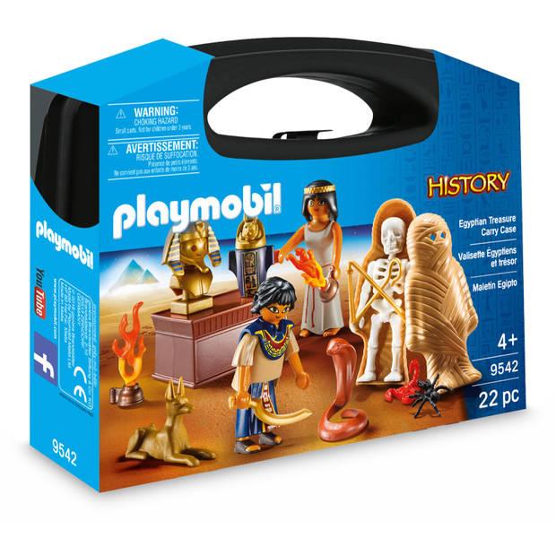 PLAYMOBIL History Egypte farao koffer 9542