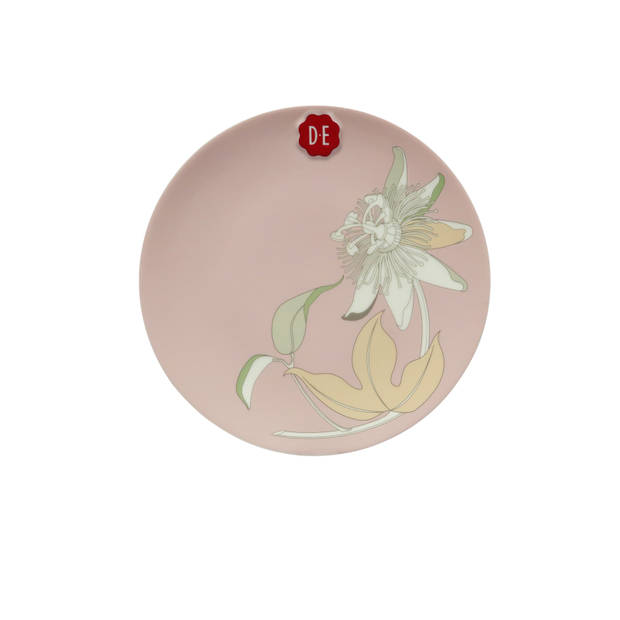 Douwe Egberts Passie bordje - Ø20,5cm - roze