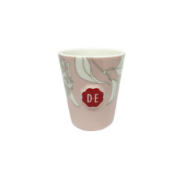 Douwe Egberts Passie cappuccinokop - 25cl - roze