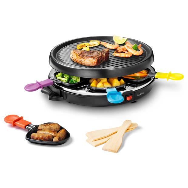 Blokker gourmet/raclette BL-26205 - 6 personen