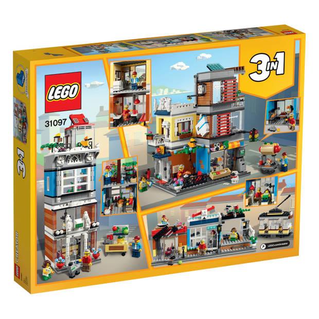 LEGO Creator 3in1 huis dierenwinkel en café 31097
